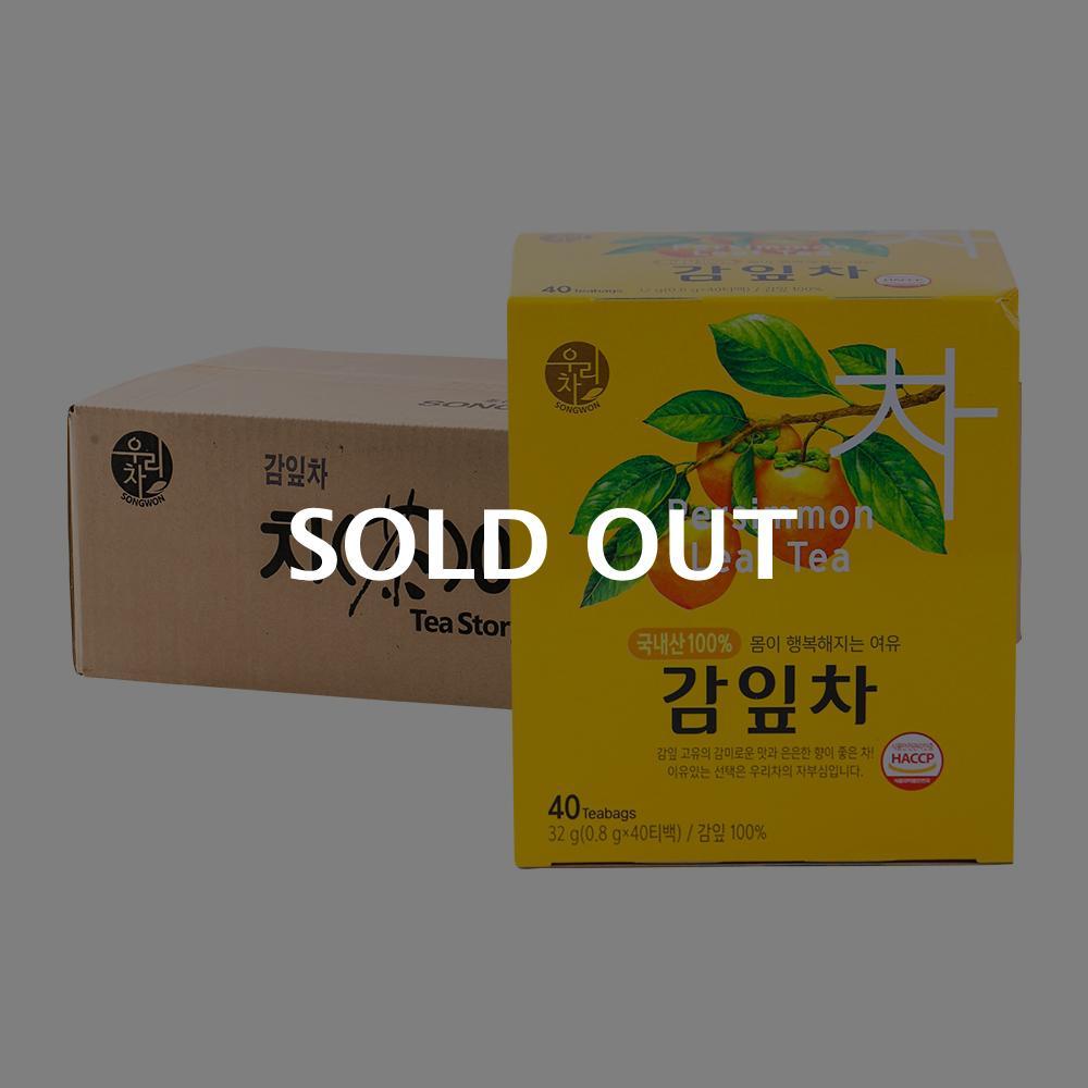 송원 감잎차 40T 16입이식사