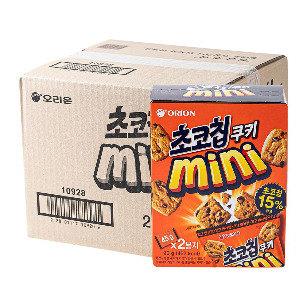 오리온 미니초코칩 90g 16입이식사