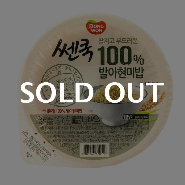 동원 쎈쿡 발아현미밥 195g이식사