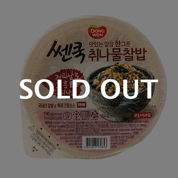 동원 쎈쿡 취나물찰밥 190g이식사