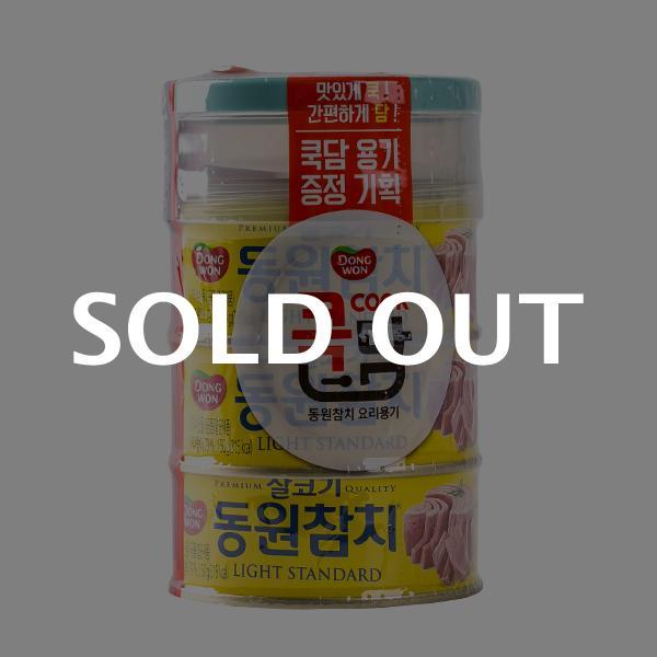 동원 살코기참치 150g 3입+쿡담이식사