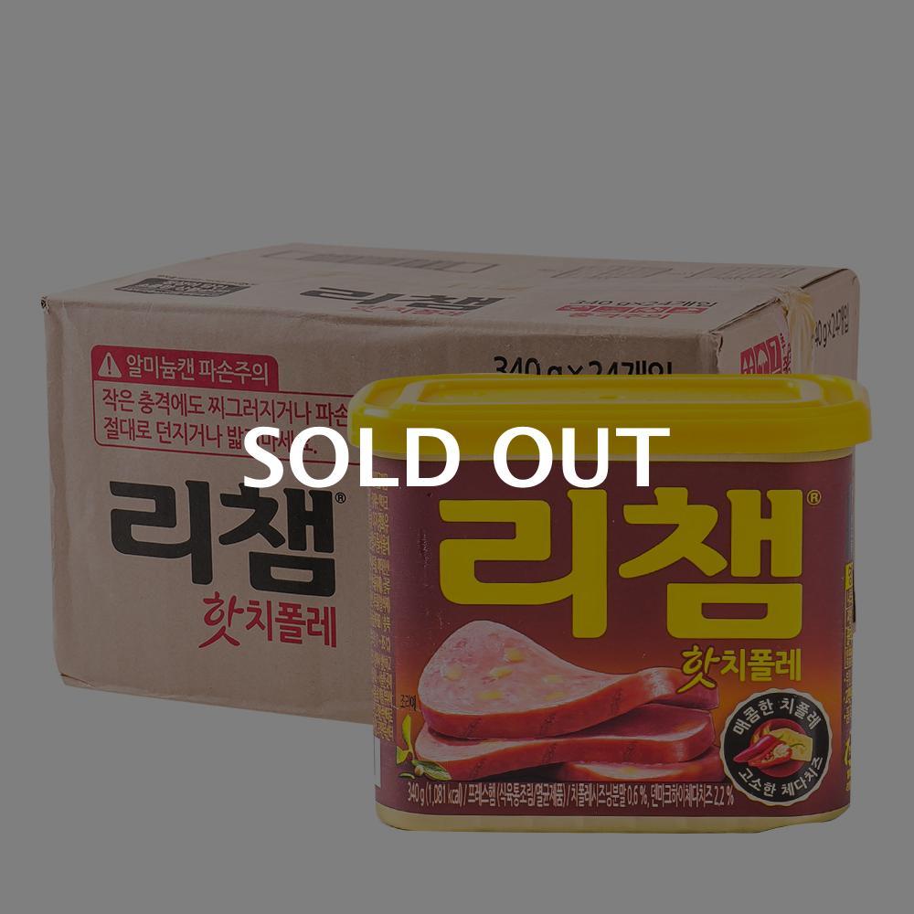 동원 매운리챔 340g 24입이식사