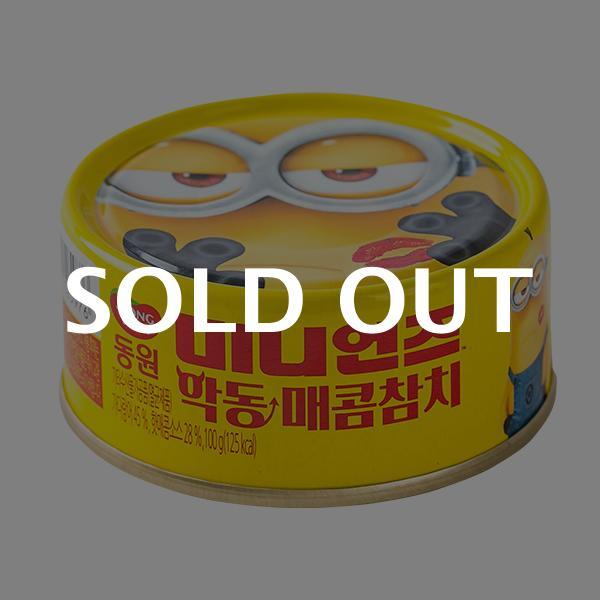 동원 미니언즈 악동매콤참치 100g이식사