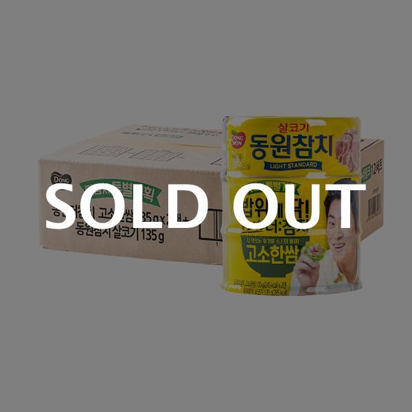 동원 더참치고소한쌈 135g 2개+살코기 135g 12입이식사