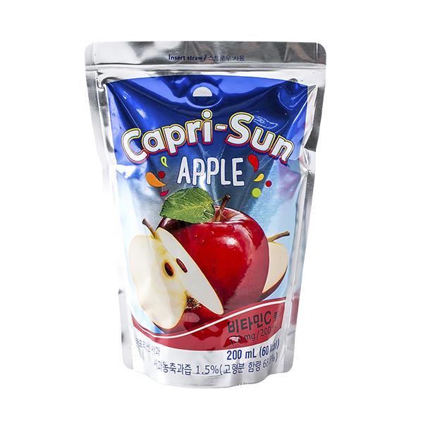 농심 카프리썬 사과 200ml이식사