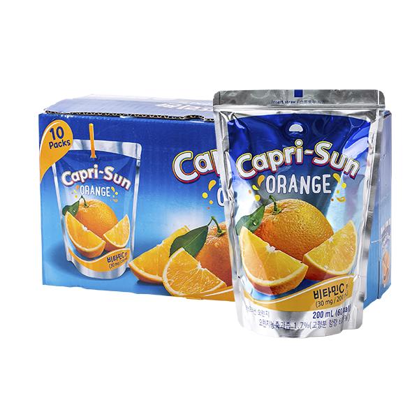 농심 카프리썬 오렌지 200ml 10입