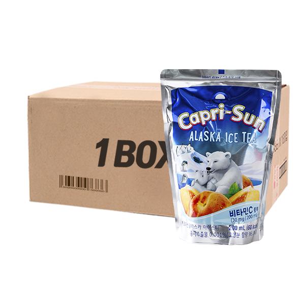 농심 카프리썬 알래스카 200ml 20입이식사