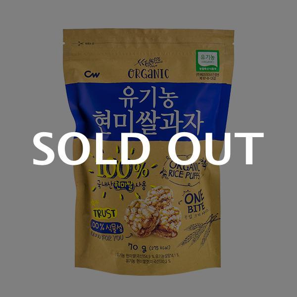 청우 유기농현미쌀과자 70g이식사
