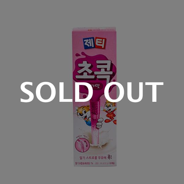 동서 제티 초콕 딸기맛 10T 36g이식사
