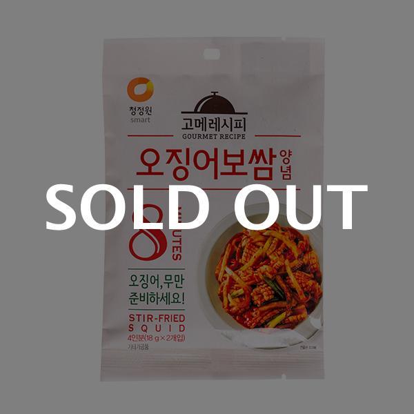 청정원 오징어보쌈양념 36g이식사