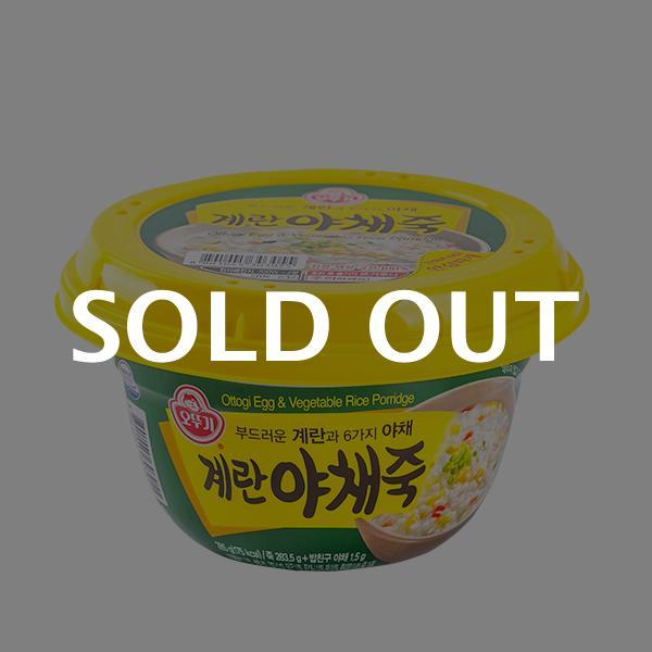 오뚜기 계란야채죽 285g이식사