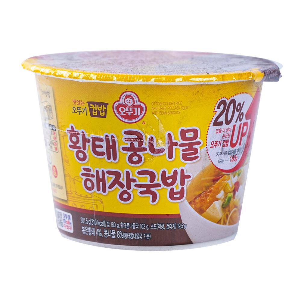 오뚜기 컵밥 북어해장국밥 175g이식사