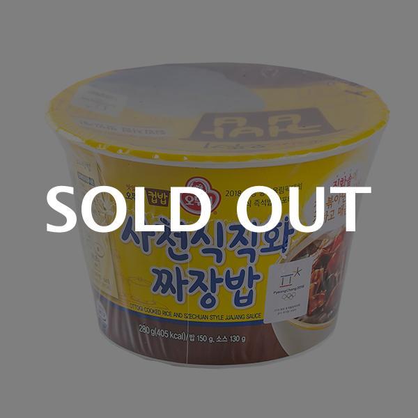 오뚜기 컵밥 사천식 직화 짜장밥 280g이식사
