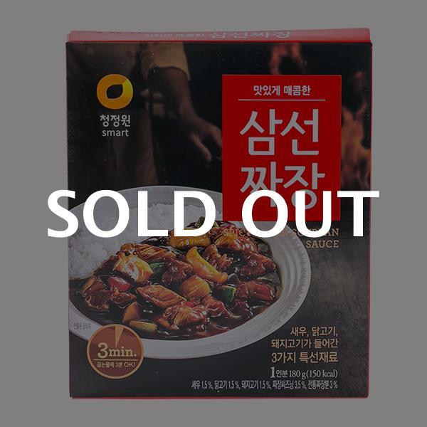 청정원 삼선짜장 180g이식사