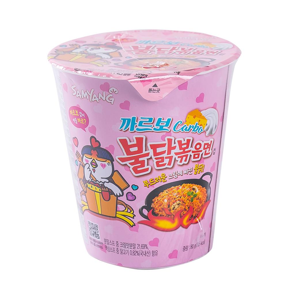 삼양 까르보불닭볶음면 소컵 80g이식사