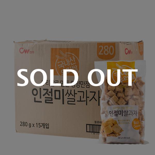 청우 인절미쌀과자 280g 15입이식사