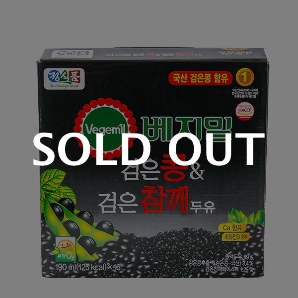 베지밀 검은콩검은참깨두유 190ml 16입이식사