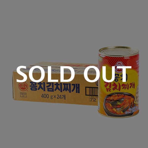 오뚜기 꽁치 김치찌개 400g 24입이식사