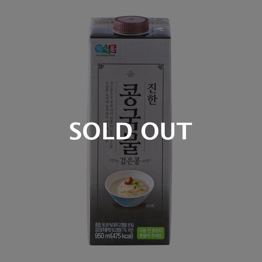 정식품 진한 콩국물 검은콩 950ml