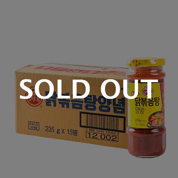 오뚜기 닭볶음탕양념 235g 15입이식사