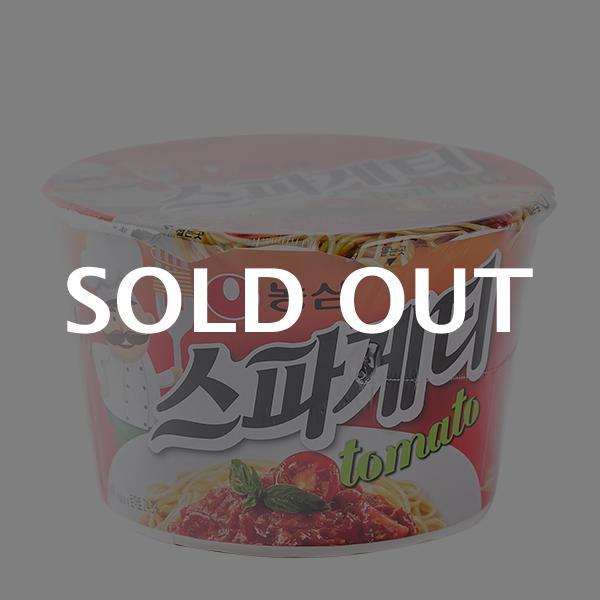 농심 스파게티 토마토 100g이식사