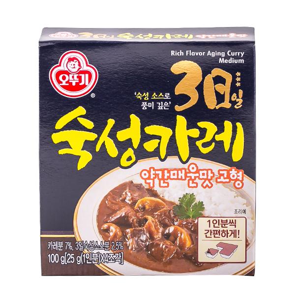 오뚜기 3일숙성카레 고형 약간매운맛 100g이식사