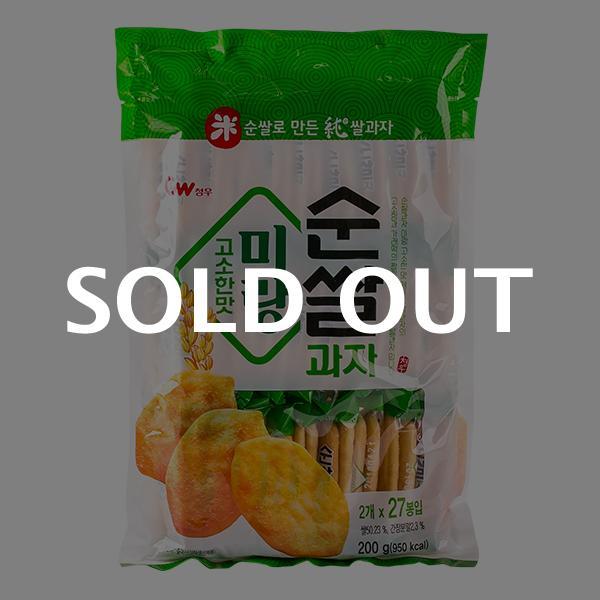 청우 미랑 순쌀과자 고소한맛 200g이식사