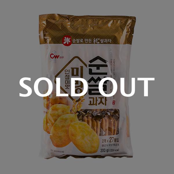 청우 미랑 순쌀과자 인절미맛 200g이식사