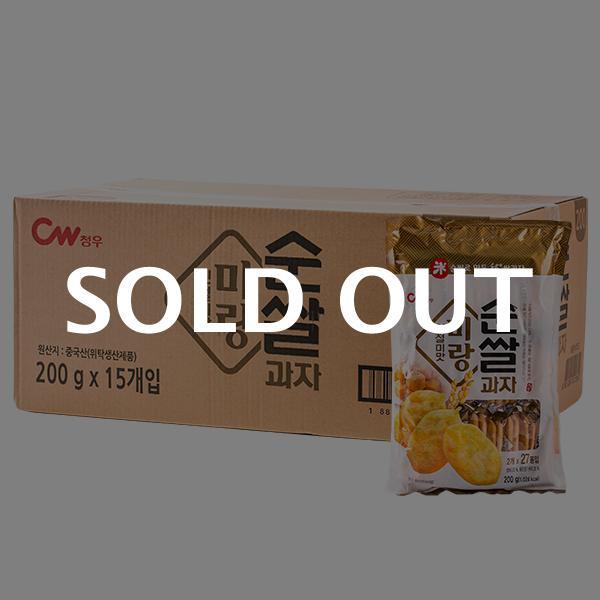 청우 미랑 순쌀과자 인절미맛 200g 15입이식사