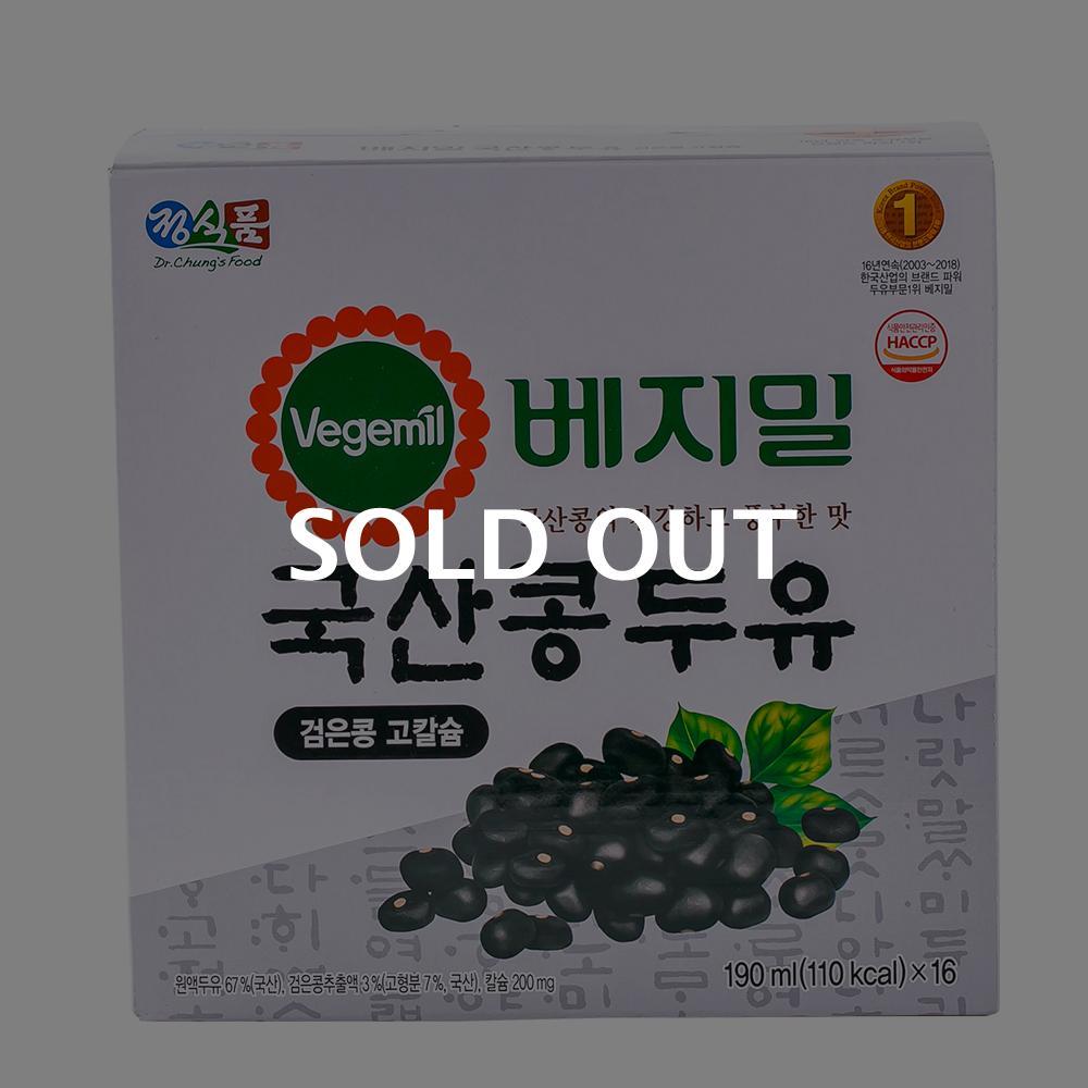 베지밀 국산콩두유 190ml 16입이식사