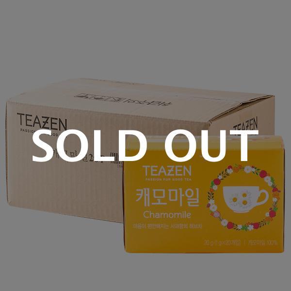 티젠 캐모마일 20T 20g 20입이식사