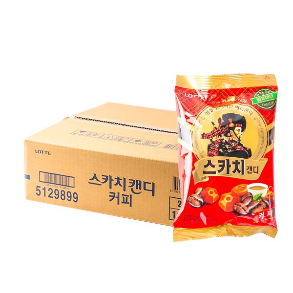 롯데 스카치캔디 커피 157g 20입