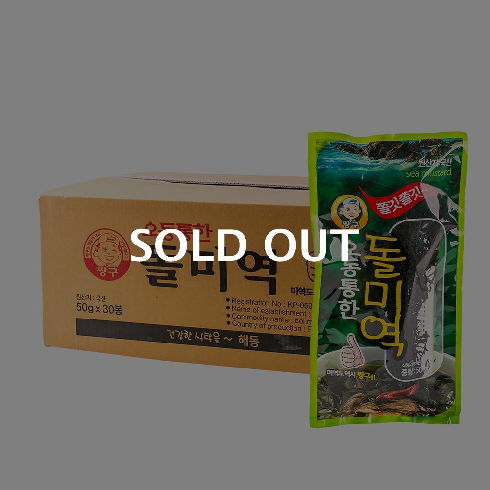 해동식품 오동통한 돌미역 50g 30입