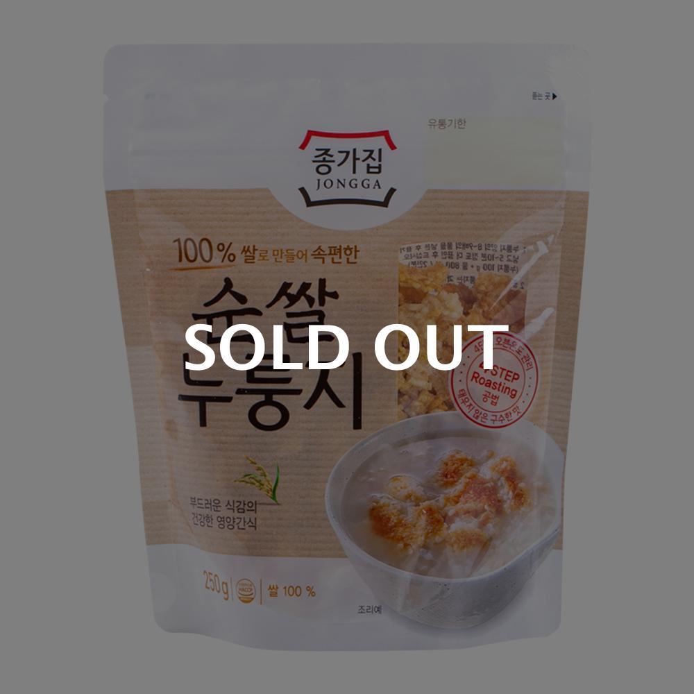 종가집 우리쌀 누룽지 250g