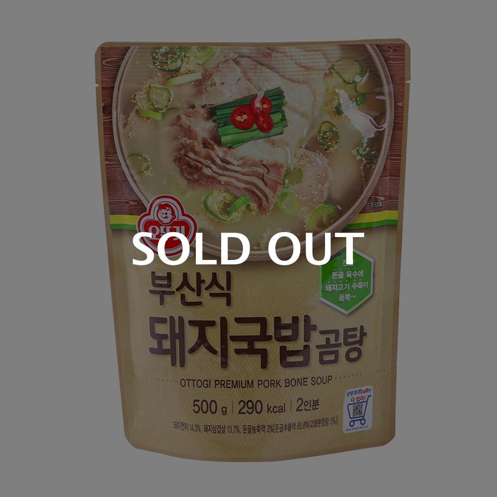 오뚜기 부산식 돼지국밥 곰탕 500g