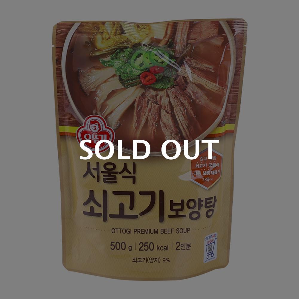 오뚜기 서울식 쇠고기 보양탕 500g