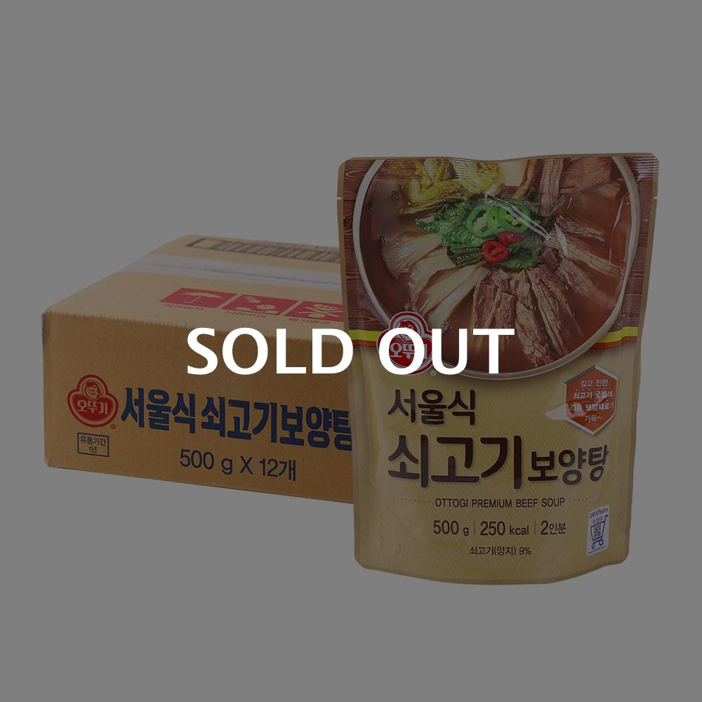 오뚜기 서울식 쇠고기 보양탕 500g 12입
