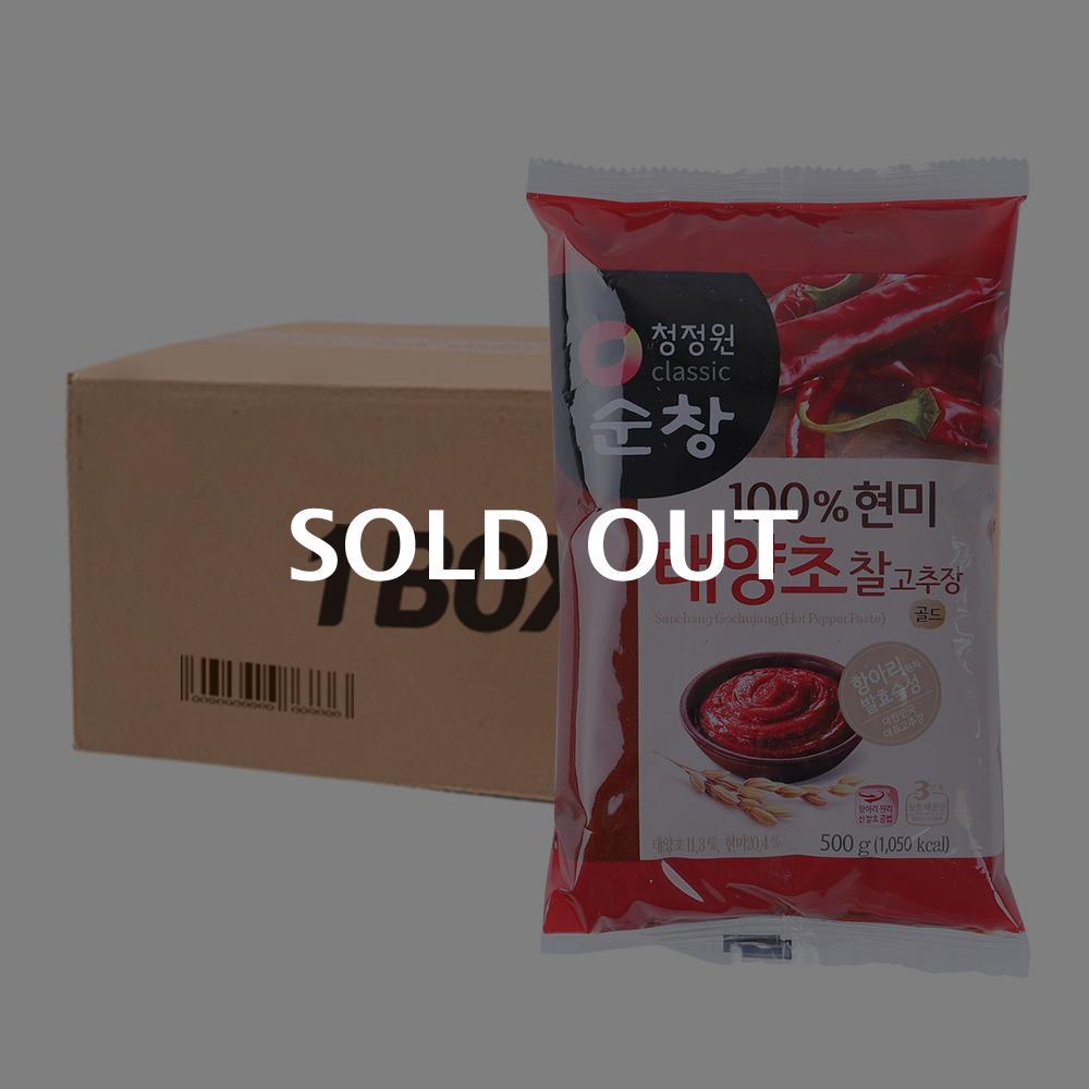 청정원 현미찰고추장리필 500g 12입