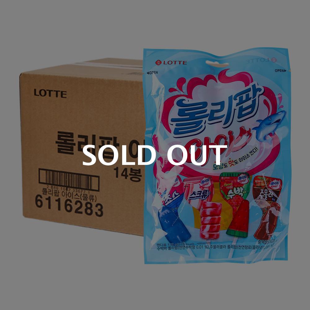 롯데 롤리팝아이스 165g 14입이식사