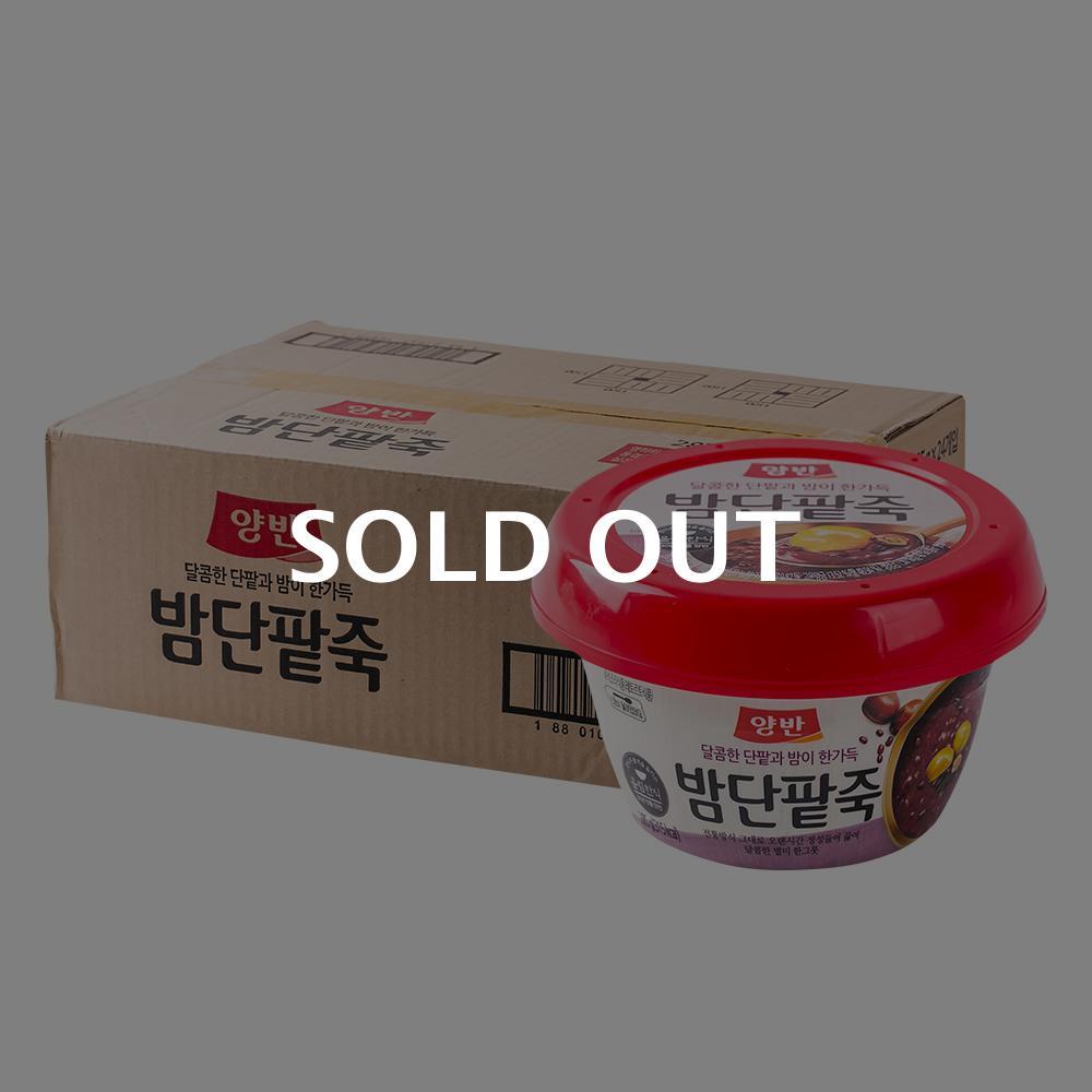 동원 양반밤단팥죽 285g(24개)이식사