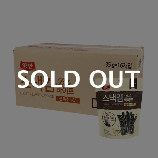 양반 스낵김바이트 군옥수수맛35g(16입)이식사