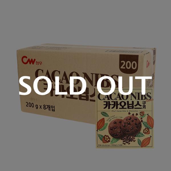 청우 카카오닙스 쿠키 200g(8입)이식사