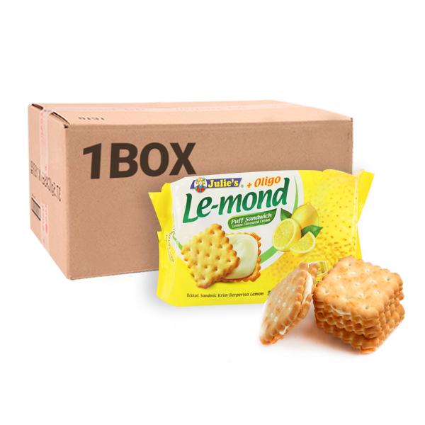 줄리스 르몽드 레몬맛샌드위치 85g 24입이식사