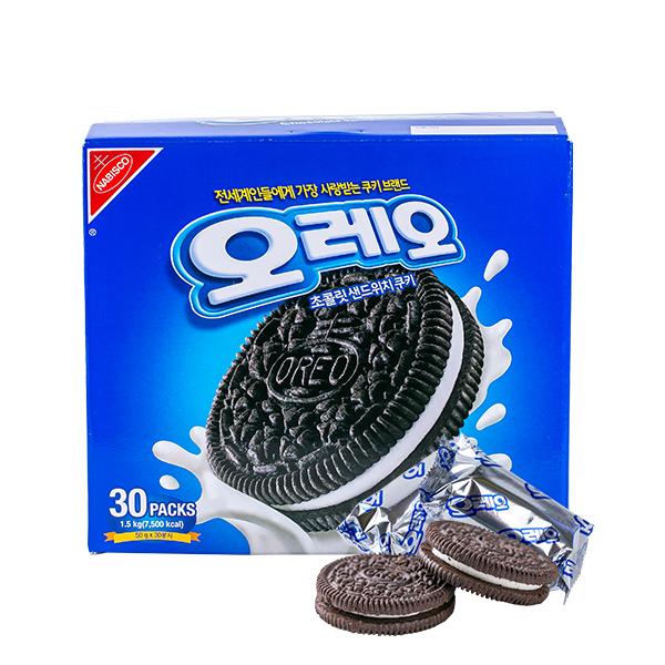 오레오 초콜릿 샌드위치 쿠키 1.5kg이식사