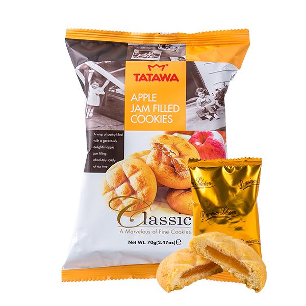 타타와 사과잼 쿠키 70g이식사