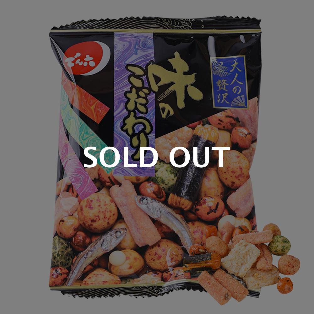덴로쿠 스낵믹스 아지노코다와리 25g이식사