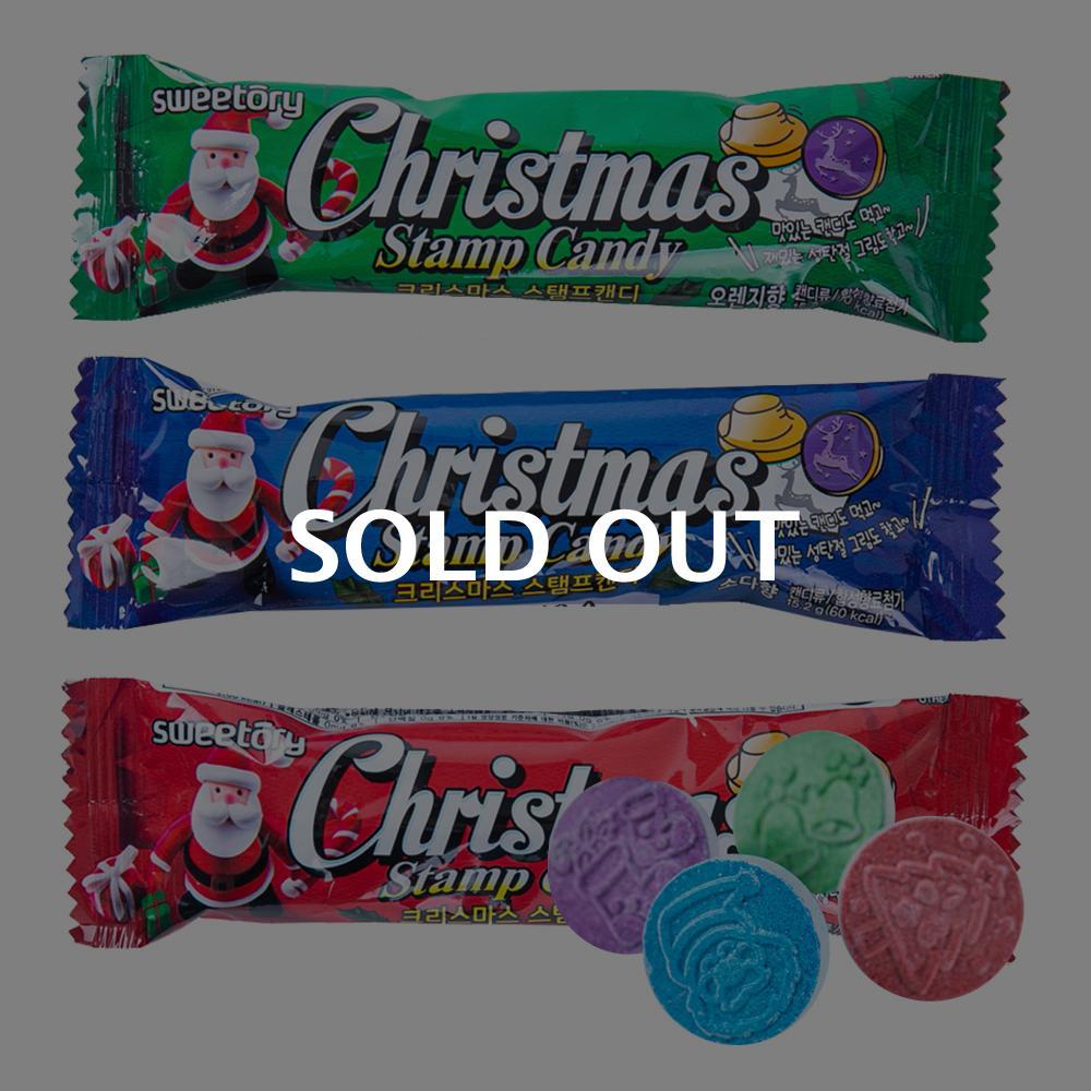 크리스마스 스탬프캔디 15.2g (3종랜덤)이식사