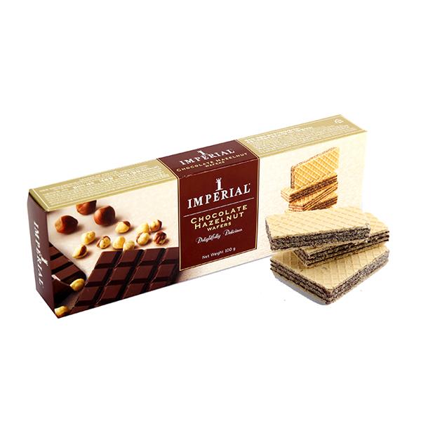임페리얼 초콜릿헤이즐넛 웨하스 100g이식사