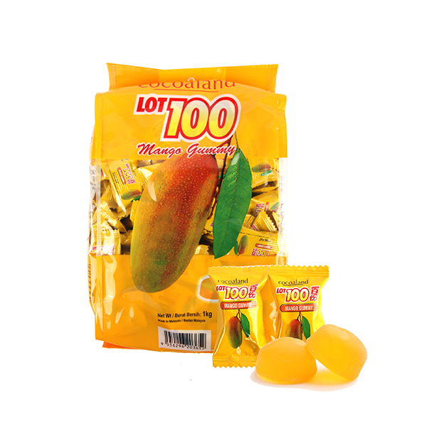 LOT 100 구미망고젤리 1kg이식사