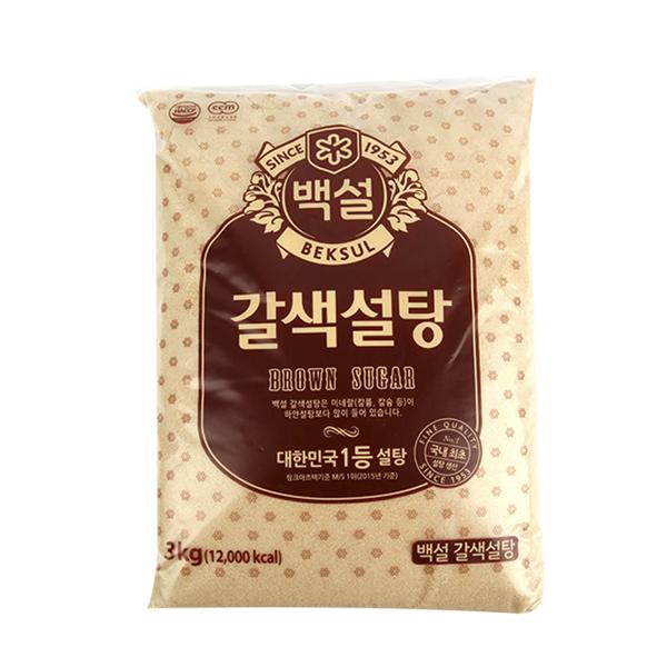 CJ 갈색설탕 3kg